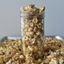 Brown Sugar Sticky Bun Popcorn recipe