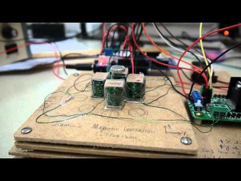 Magnetic levitation controlled by Arduino | AMC | Magnetic