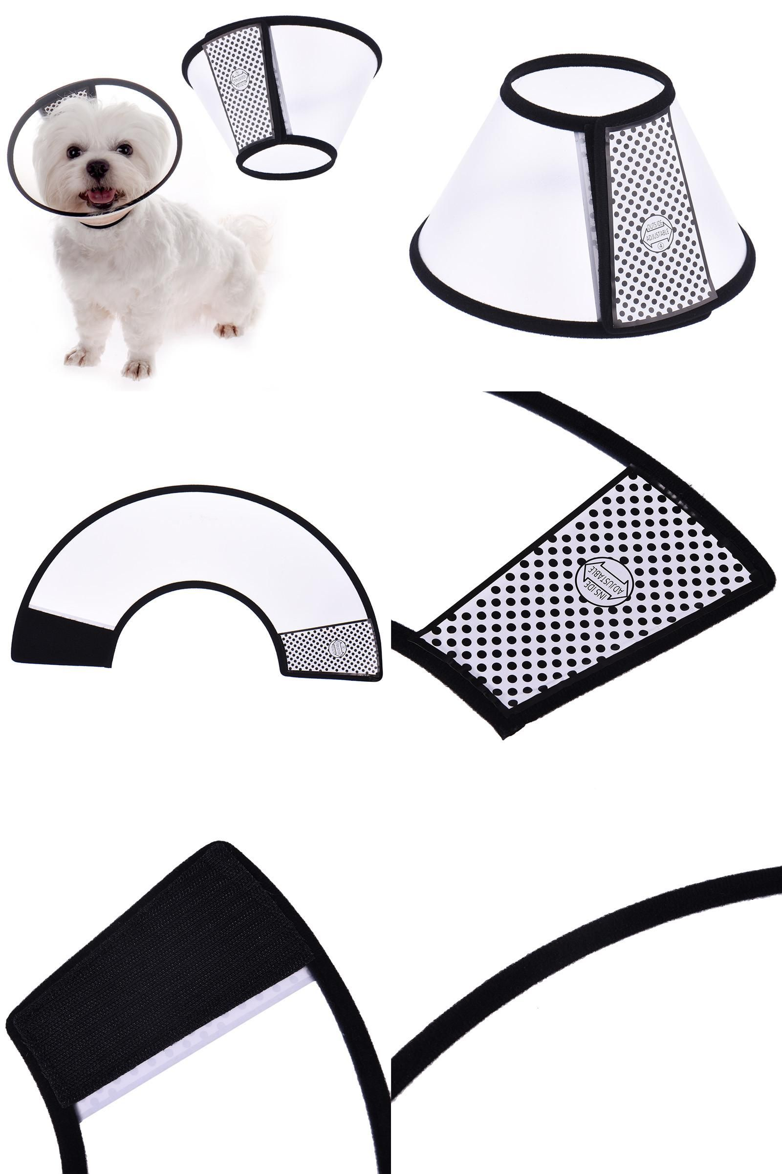 [Visit To Buy] Comfy Soft Pet Dog Coat Elizabethan Cone