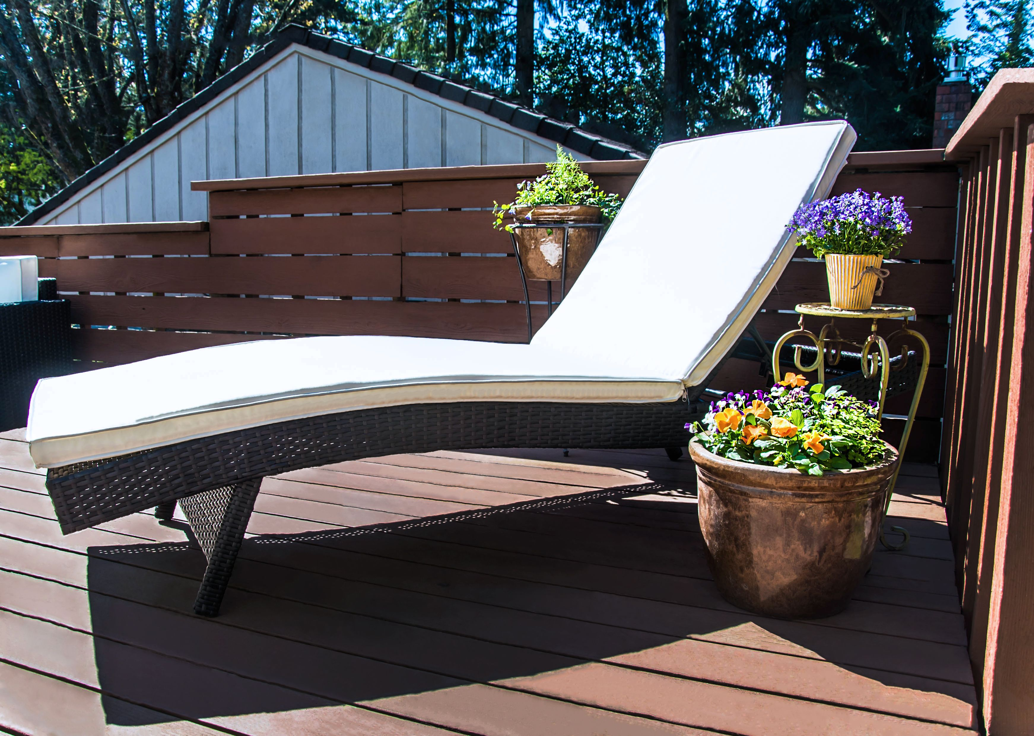 decorative and functional our reclining pe rattan wicker patio