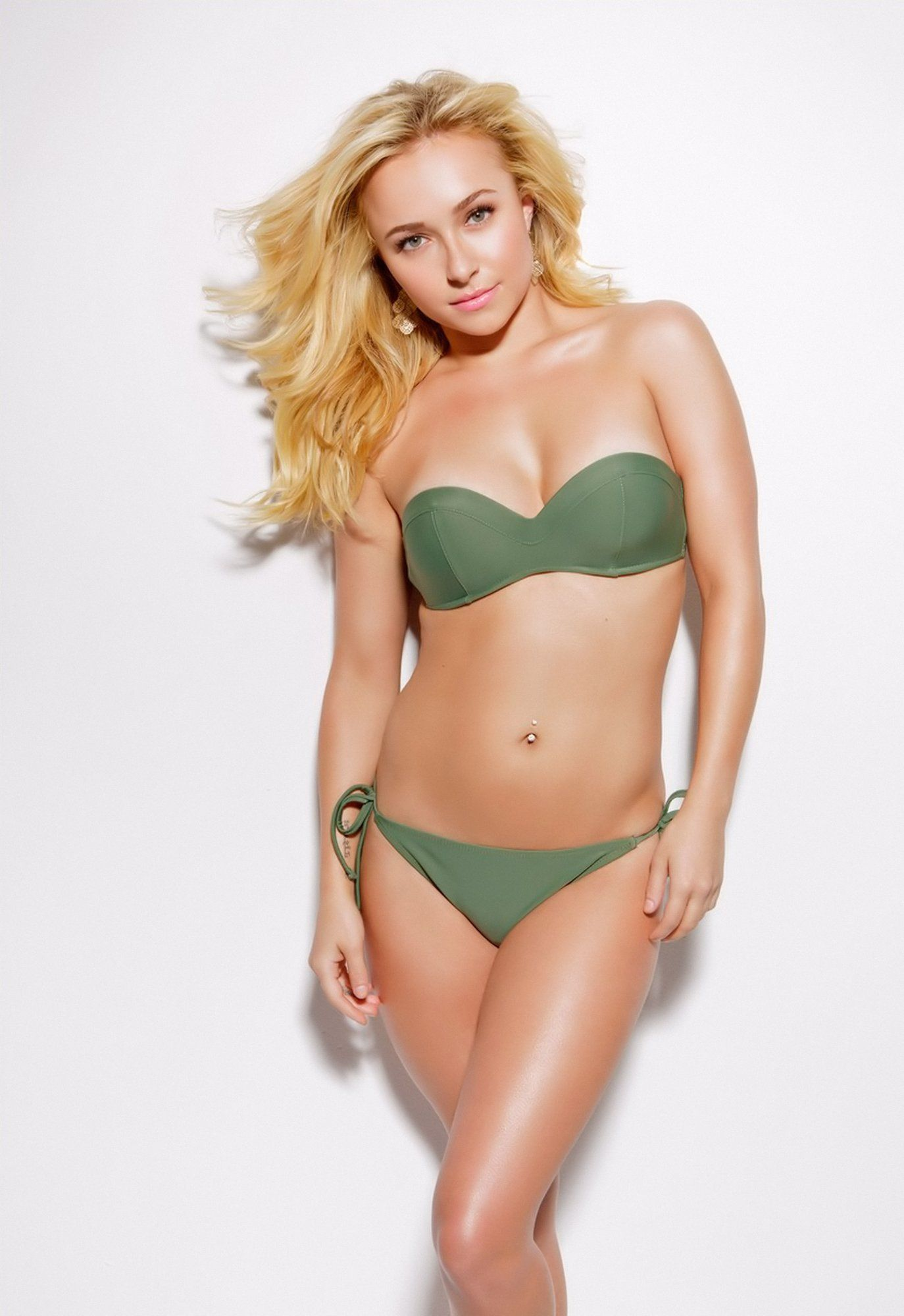 Angelica Celaya En Bikini hayden panettiere strips down to her bikini for esquire