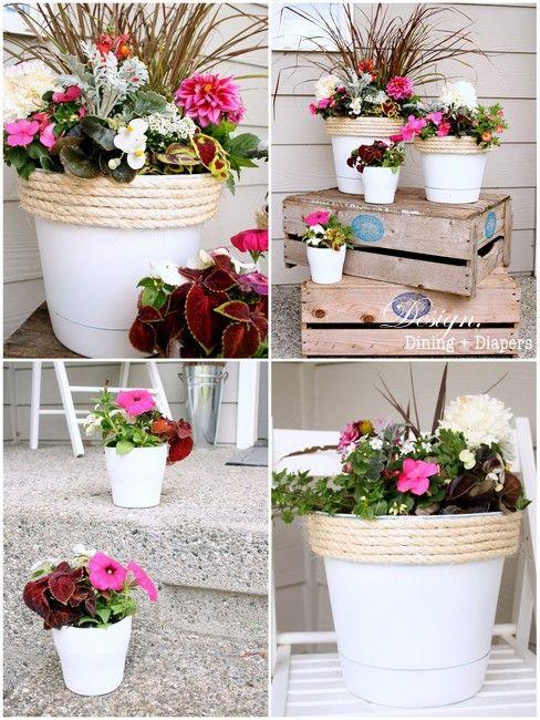 The Power Of Paint Garden Crafts Plastic Flower Pots 400 x 300