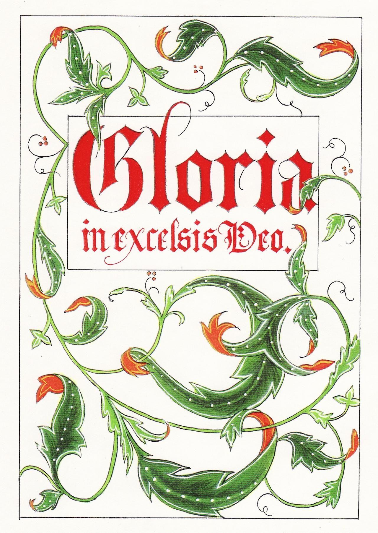Gloria in Excelsis Deo | Gloria in excelsis deo, Christmas music, Jolly holiday
