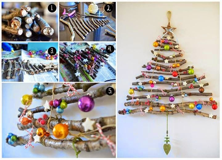 This diy christmas tree is so quick and easy to make from tree how to make a natural christmas tree diy christmas diy crafts do it yourself diy projects christmas tree solutioingenieria Image collections