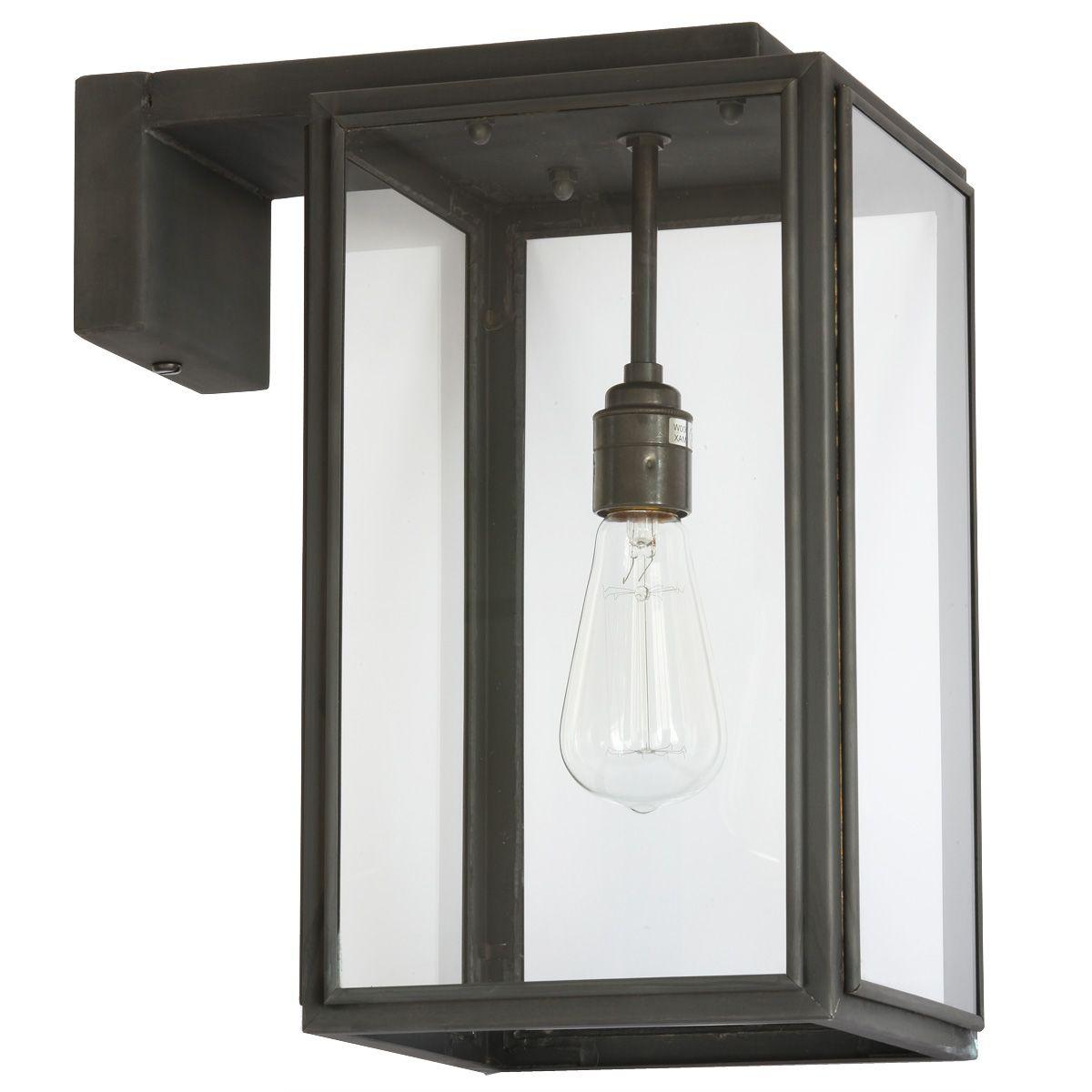 Bauhaus Aussenleuchte Mit Wandarm Portico Small Von Davey Lighting