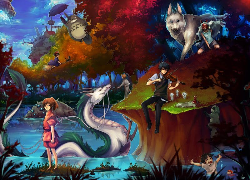 Studio Ghibli ^.^