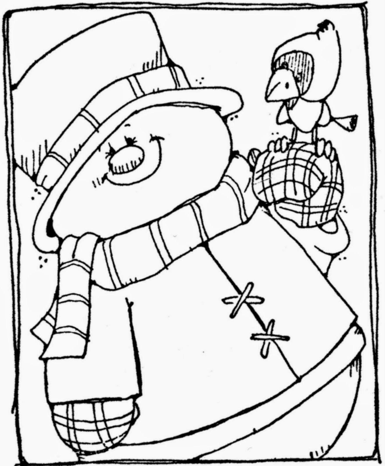 Snowman Coloring Pages Snowman coloring pages, Coloring