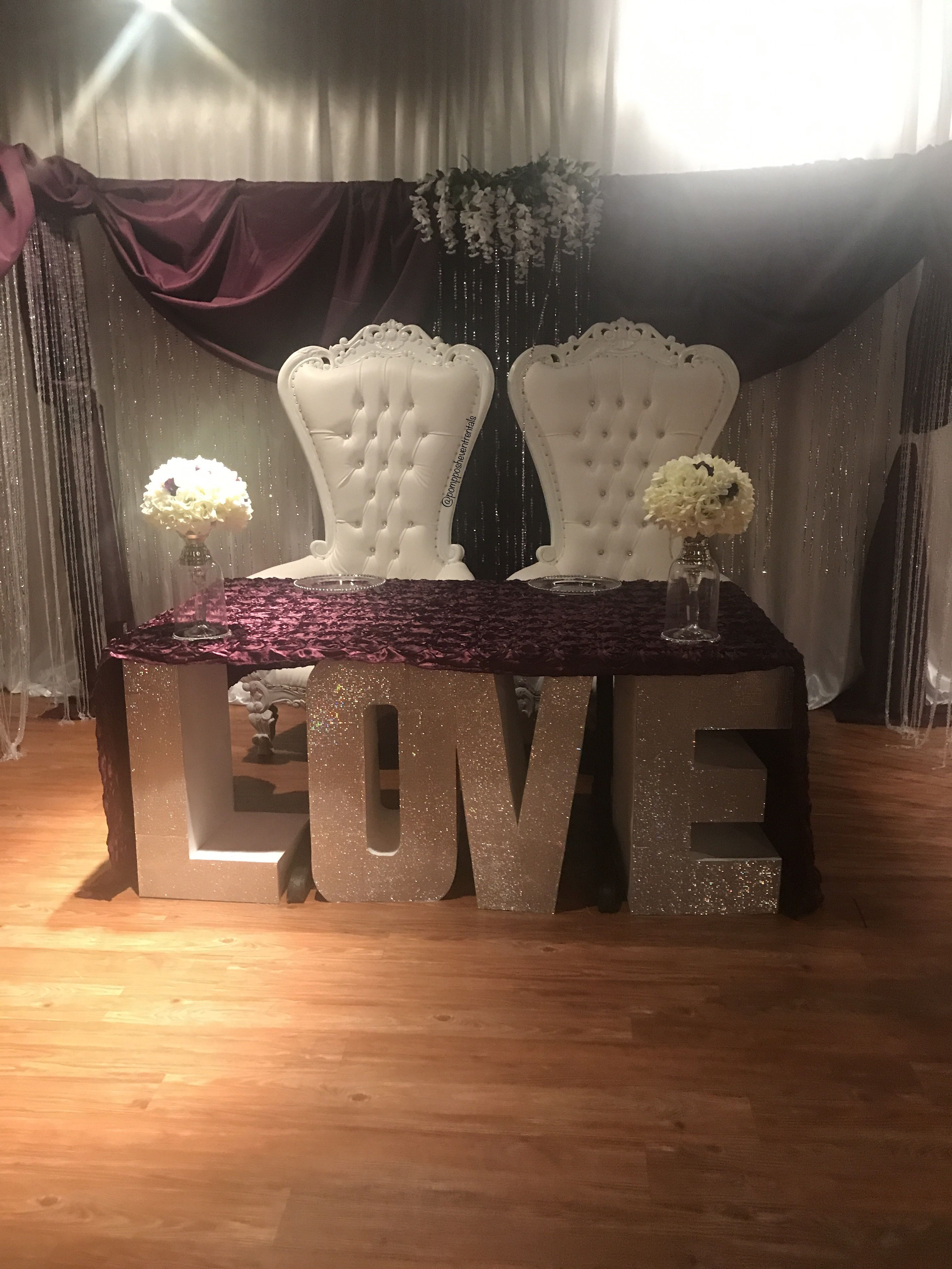Throne Chair King And Queen Chair Beauty And Beast Wedding