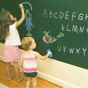 加厚装可擦写黑板贴白板贴绿板贴儿童房涂鸦墙可移除黑板墙贴纸