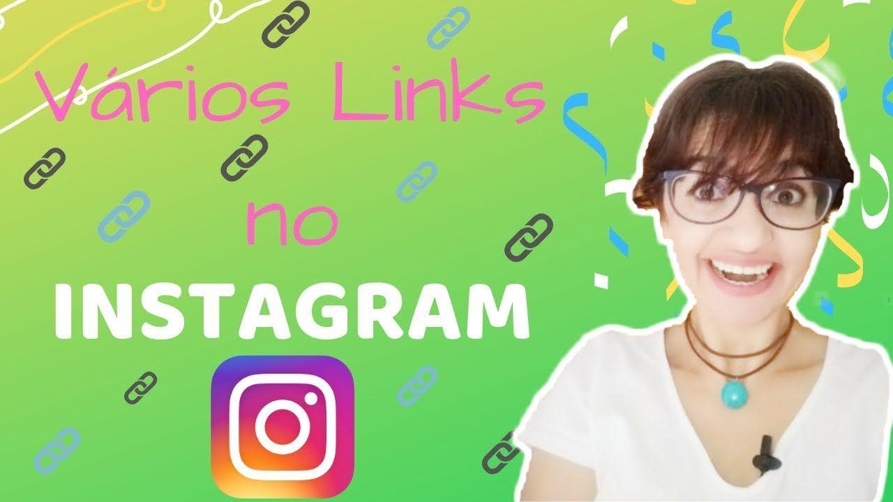 Vários Links no Instagram Linktree, Linkto.Bio por JANA
