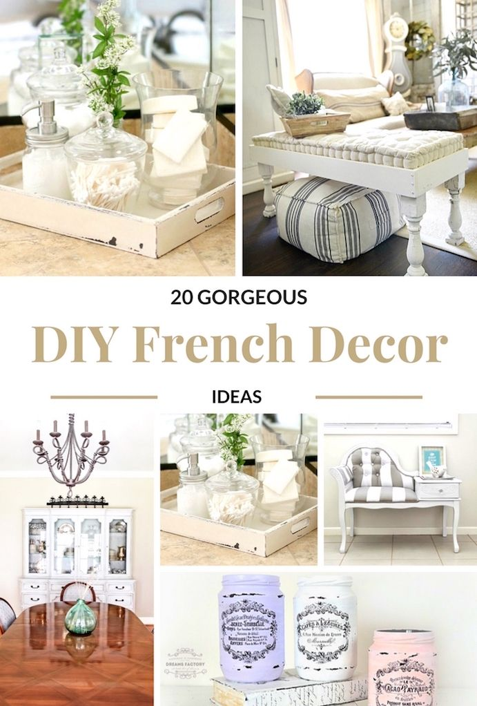 French Country Decor Ideas Country House Decor French Decor Diy