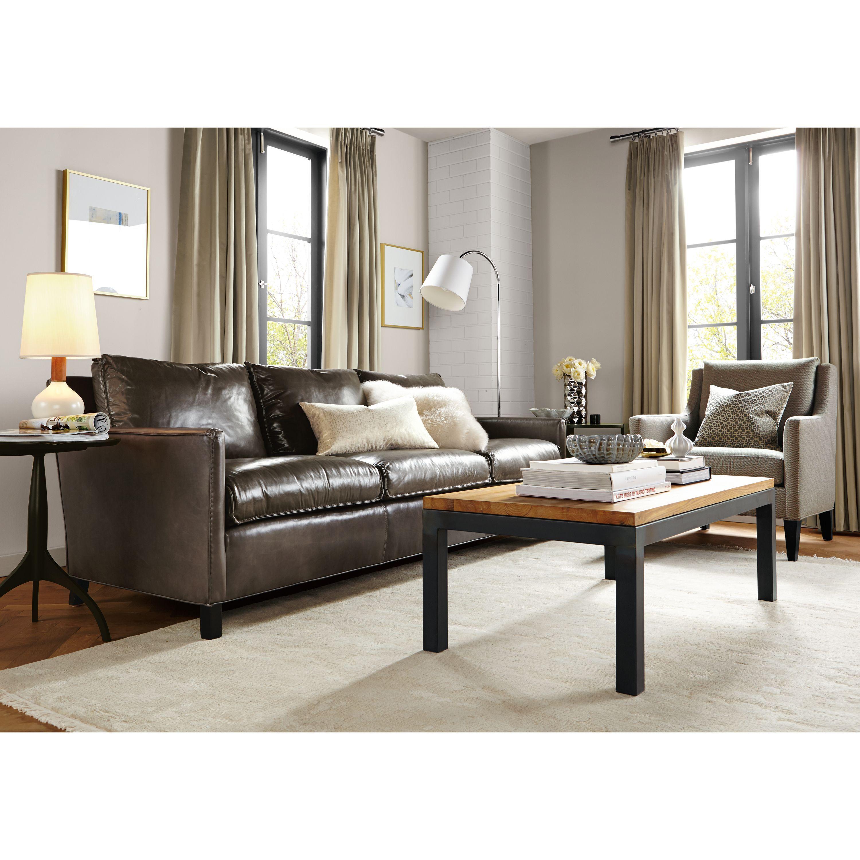 Bram Leather Sofas Modern Sofas Loveseats Modern Living Room Furniture Modern Leather Sofa Value City Furniture Furniture
