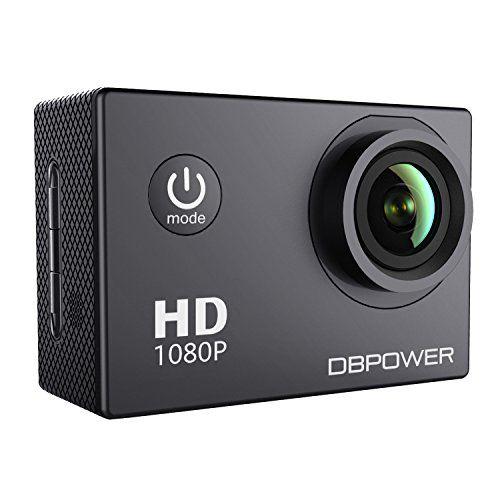 Nuova offerta in #assortito : DBPOWER Action Camera impermeabile 1080P HD 12MP KIT 2 Batterie ed accessoristica varia (Nero) a soli 39.99 EUR. Affrettati! hai tempo solo fino a 2017-01-05 23:34:00