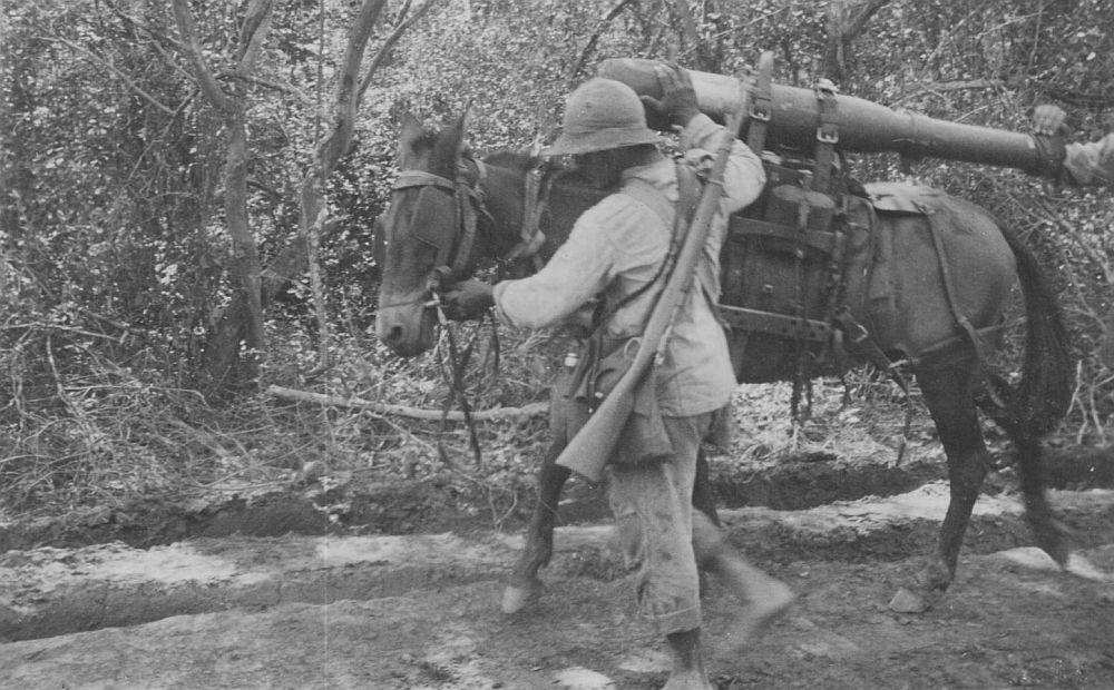 Álbumes de fotografias del Dr. De Sanctis, un medico argentino voluntario en la Guerra del Chaco. 1932. Cortesía:  Fundacion HISTARMAR, Buenos Aires (Argentina)