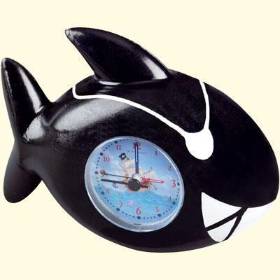 Captn Sharky Wecker Hai schwarz