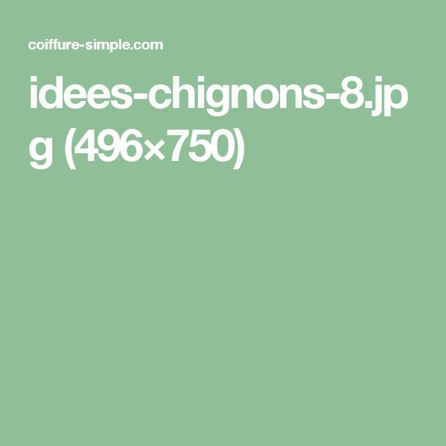 idees-chignons-8.jpg (496×750) | Chignon décoiffé, Coiffure