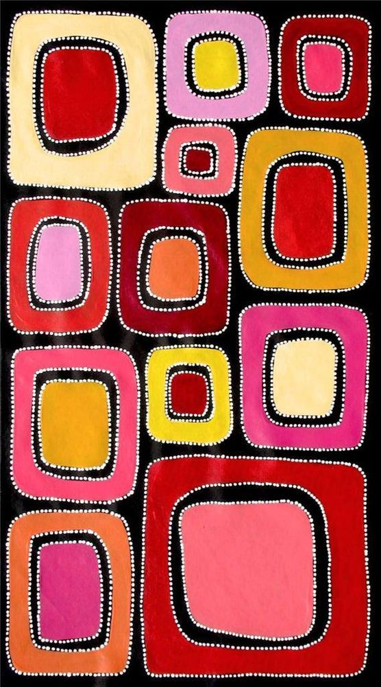 Aboriginal Art By Sally Clark Kunst Der Aborigines Bilder