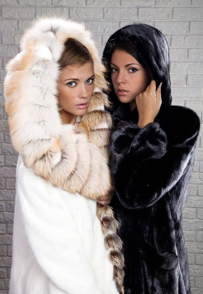 gorgeous in our furs