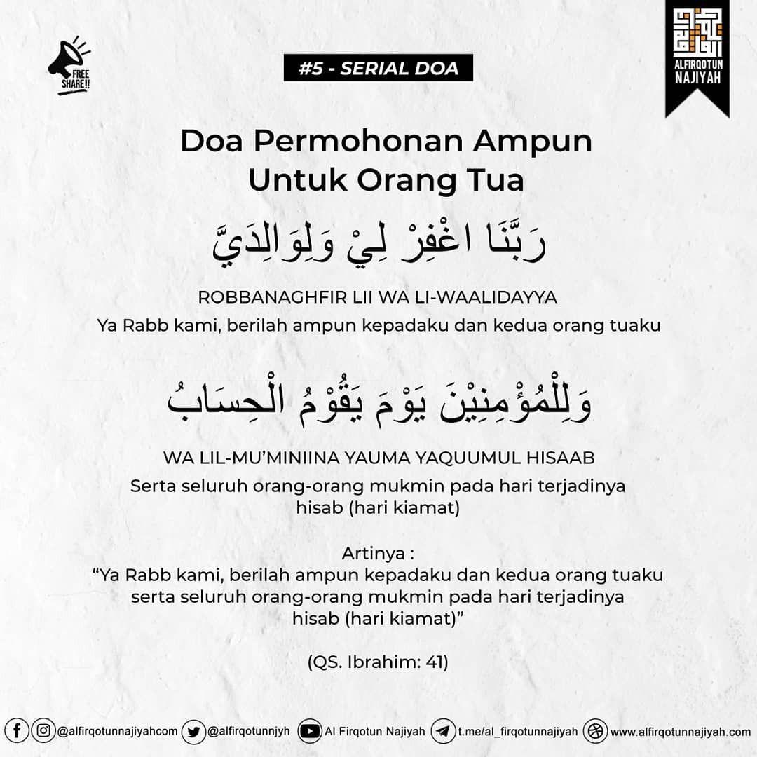 Pin Oleh Brisa Selsatanzia Di Dua From Quran And Hadith Di 2020 Doa Kutipan Agama Kekuatan Doa