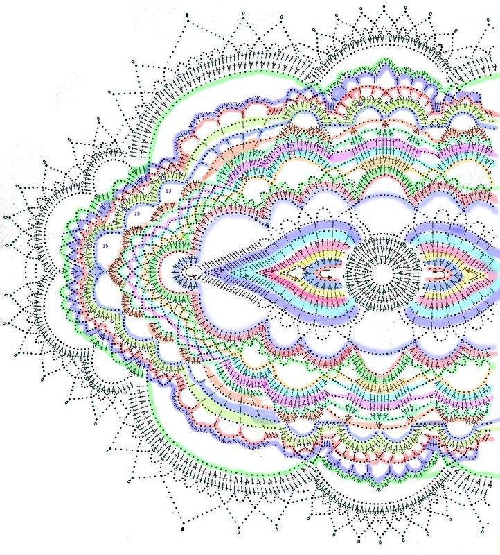 Подарок для Прекрасной Дамы - Marj Jackson - #Jackson #Marj #Дамы #для #Подарок #Прекрасной #crochetdoilies