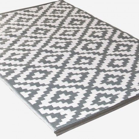 120x180 Teppich   Grau/Weiß   Alt_image_one
