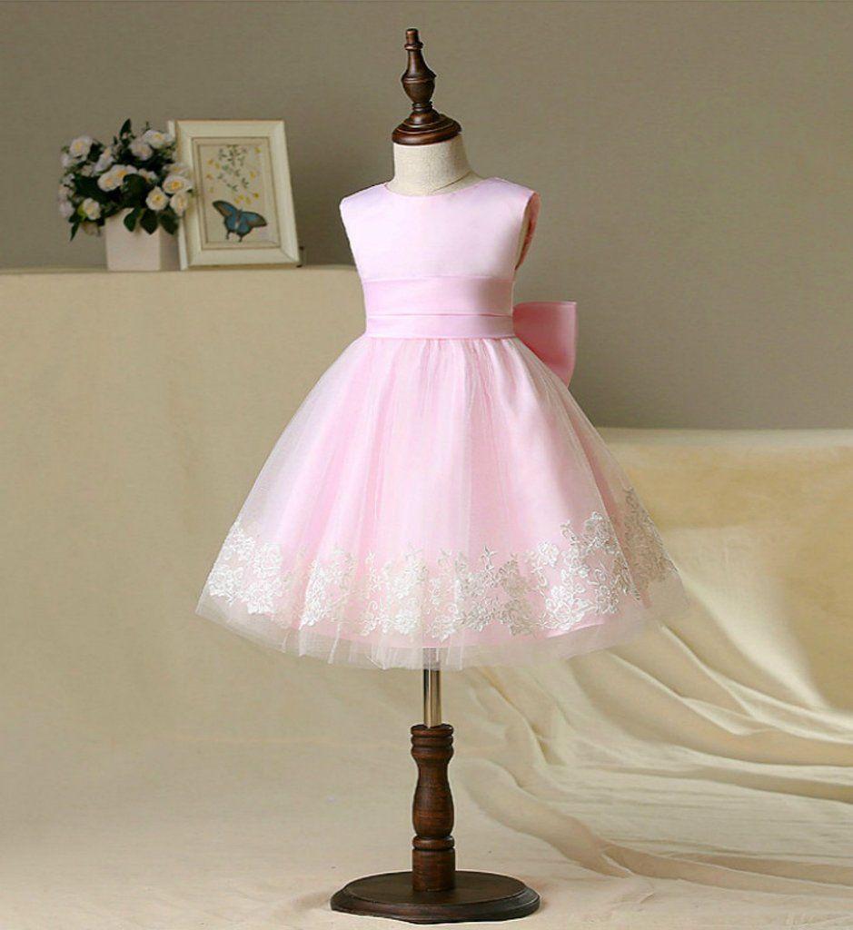 Light Pink Flower Girl Dress In 2018 My Future Wedding