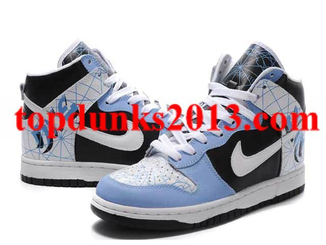 Free delivery -  Custom Nike Dunk High Top Vinyl Assault Shoes