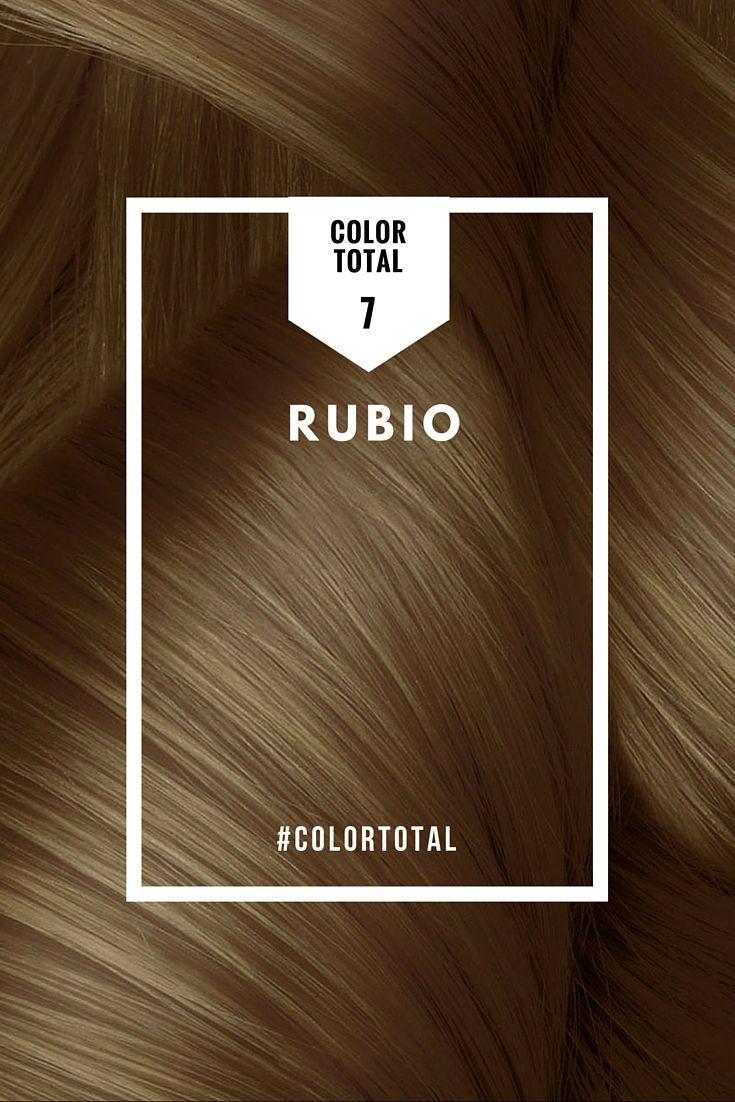 El Tono 7 Del Tinte De Pelo Color Total De Azalea Es Tu Opción Ideal Si Tienes La Piel Blanca Anaranjada Dorada Rubio Oscuro Rubio Claro Rubio Oscuro Natural