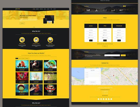 55+ Free Responsive HTML5 CSS3 Website Templates | Css website ...
