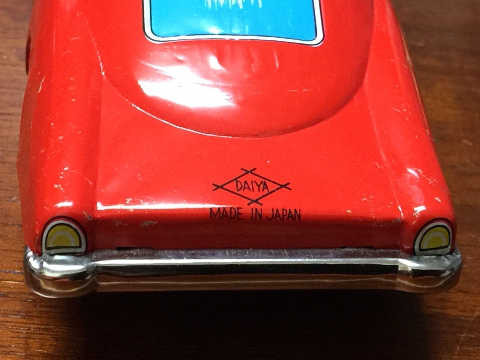 Daiya Japan Vintage Tinplate Toy Car | eBay | Tinplate toy ...