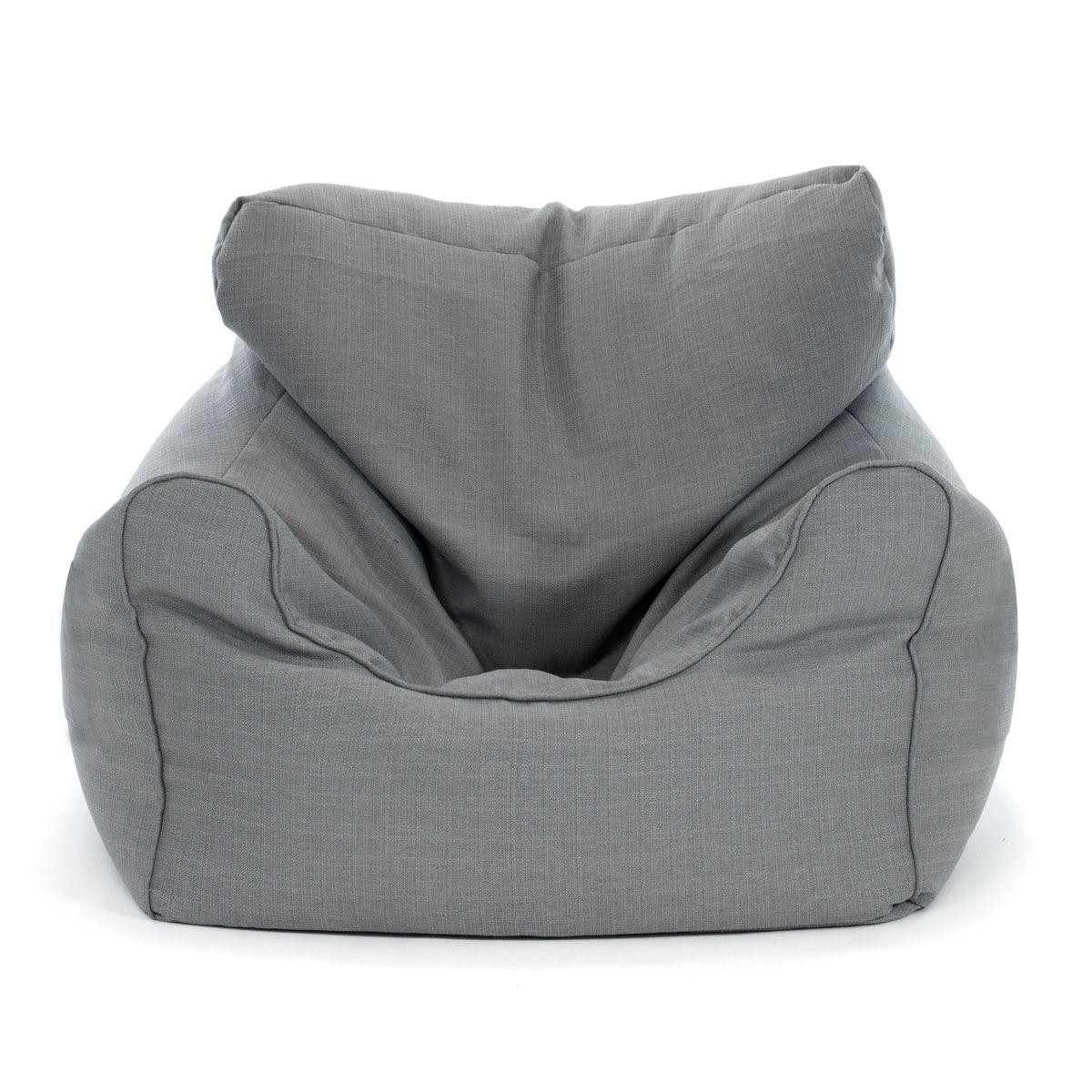 Extra Large Grey Bean Bag Chair Grey Bean Bags Bean Bag Chair