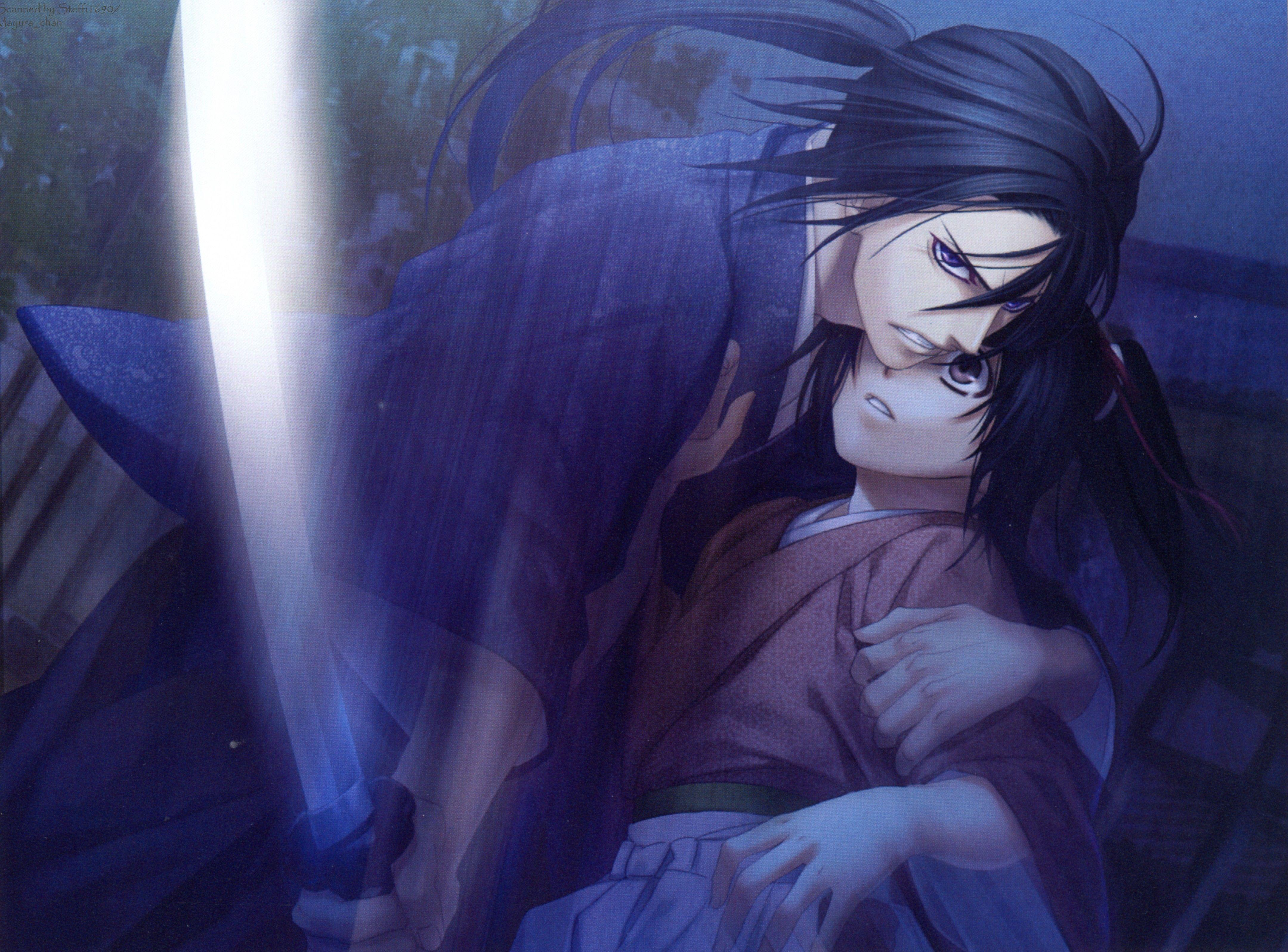 Hijikata & Chizuru Hakuōki Anime fantasy, I love anime
