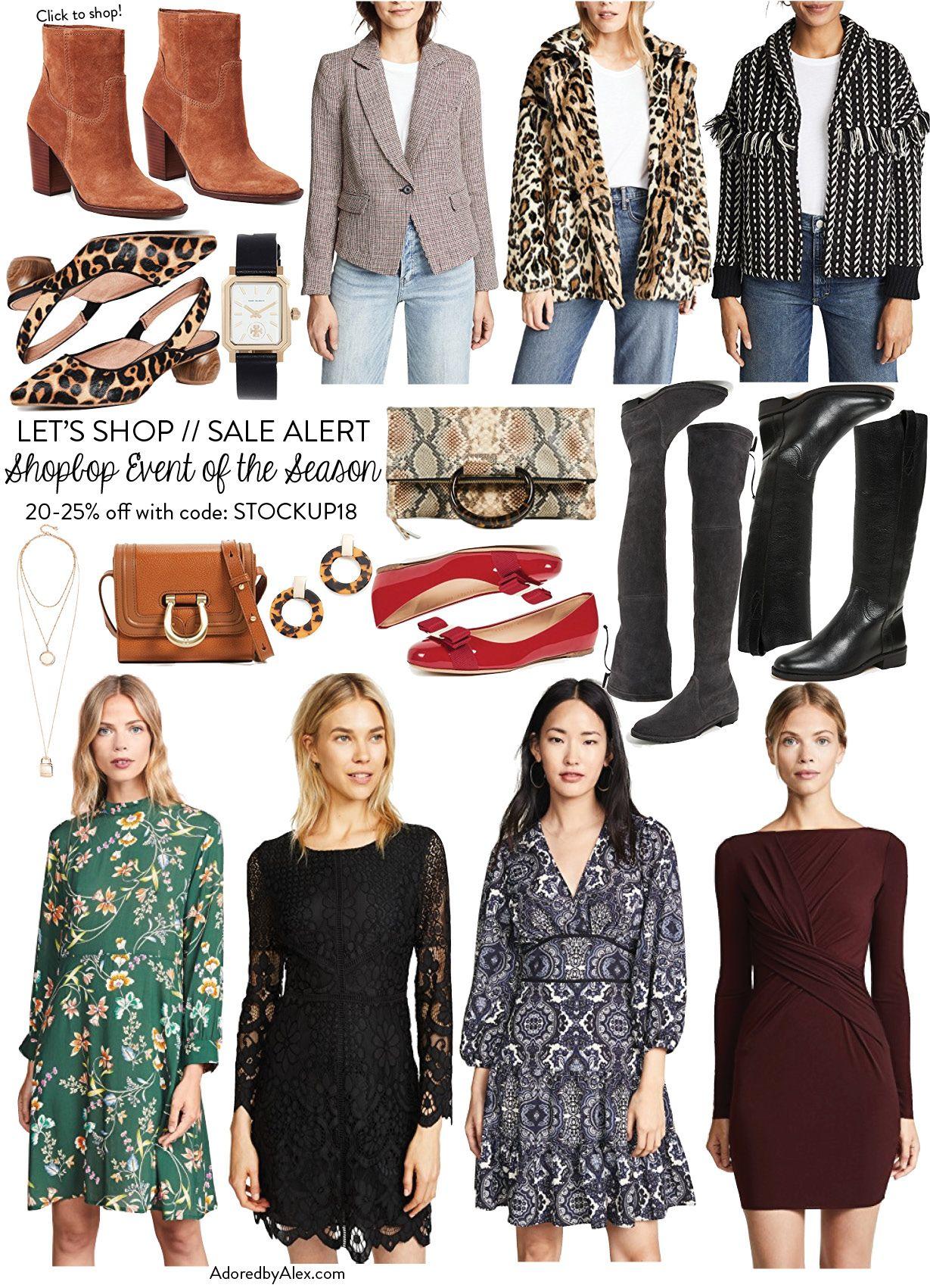 281304f70ba Let s Shop  Shopbop Fall 2018 Sale Picks
