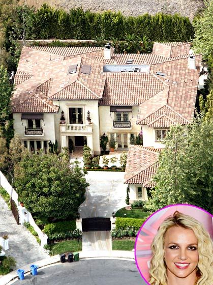 Britney Spears Home In L A