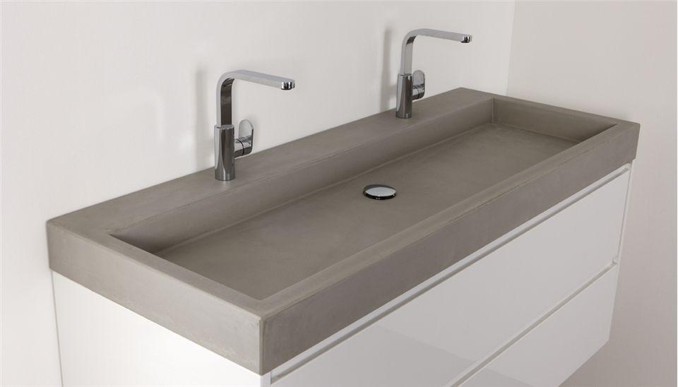 Betonnen wastafels van Thebalux - Nieuws - De beste badkamer ideeën ...