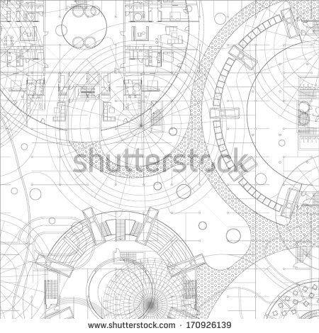 Architectural blueprint vector drawing background stock vector architectural blueprint vector drawing background stock vector malvernweather Gallery