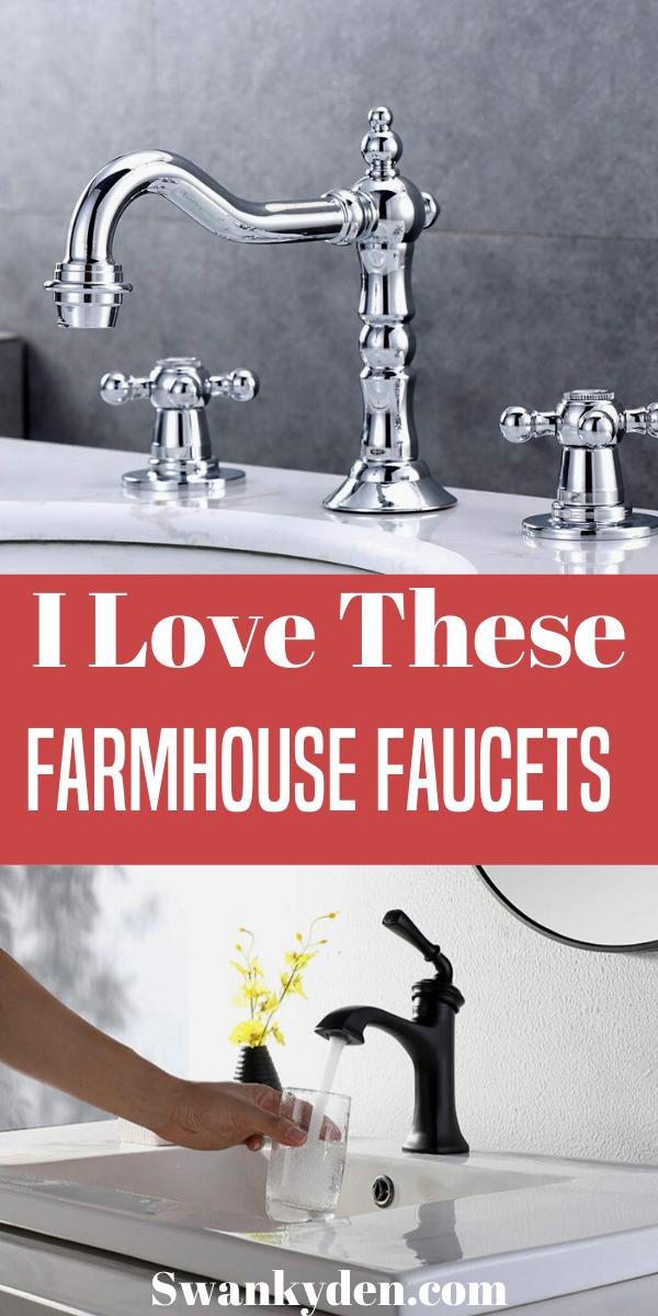 Perfect Farmhouse Bathroom Faucets For A Country Home In 2020 Bathroom Faucets Farmhouse Farmhouse Faucet Budget Farmhouse Decor