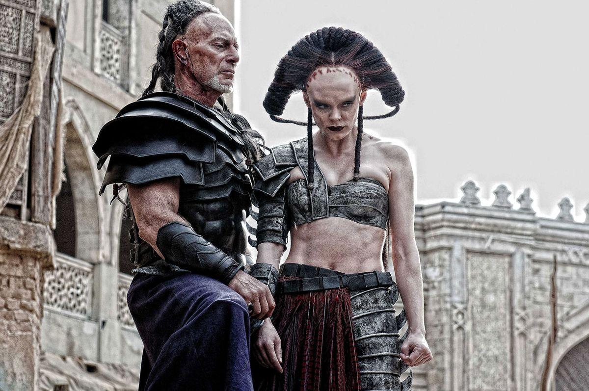 Conan 2011 Best conan the barbarian - marique and khalar zym   fantasy movies