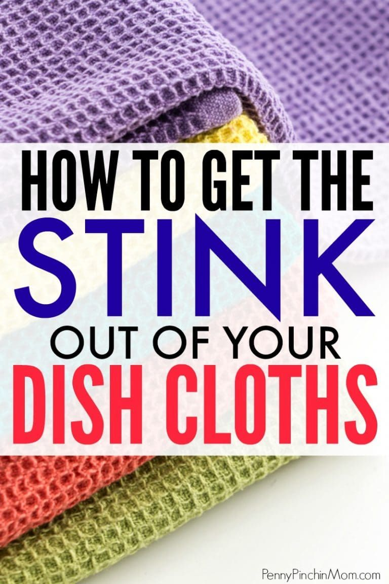 Simple cleaning idea make kitchen rags like new again This is such a simple trick to get rid of smelly dish cloths in just a few minutes every month No need to waste mone...