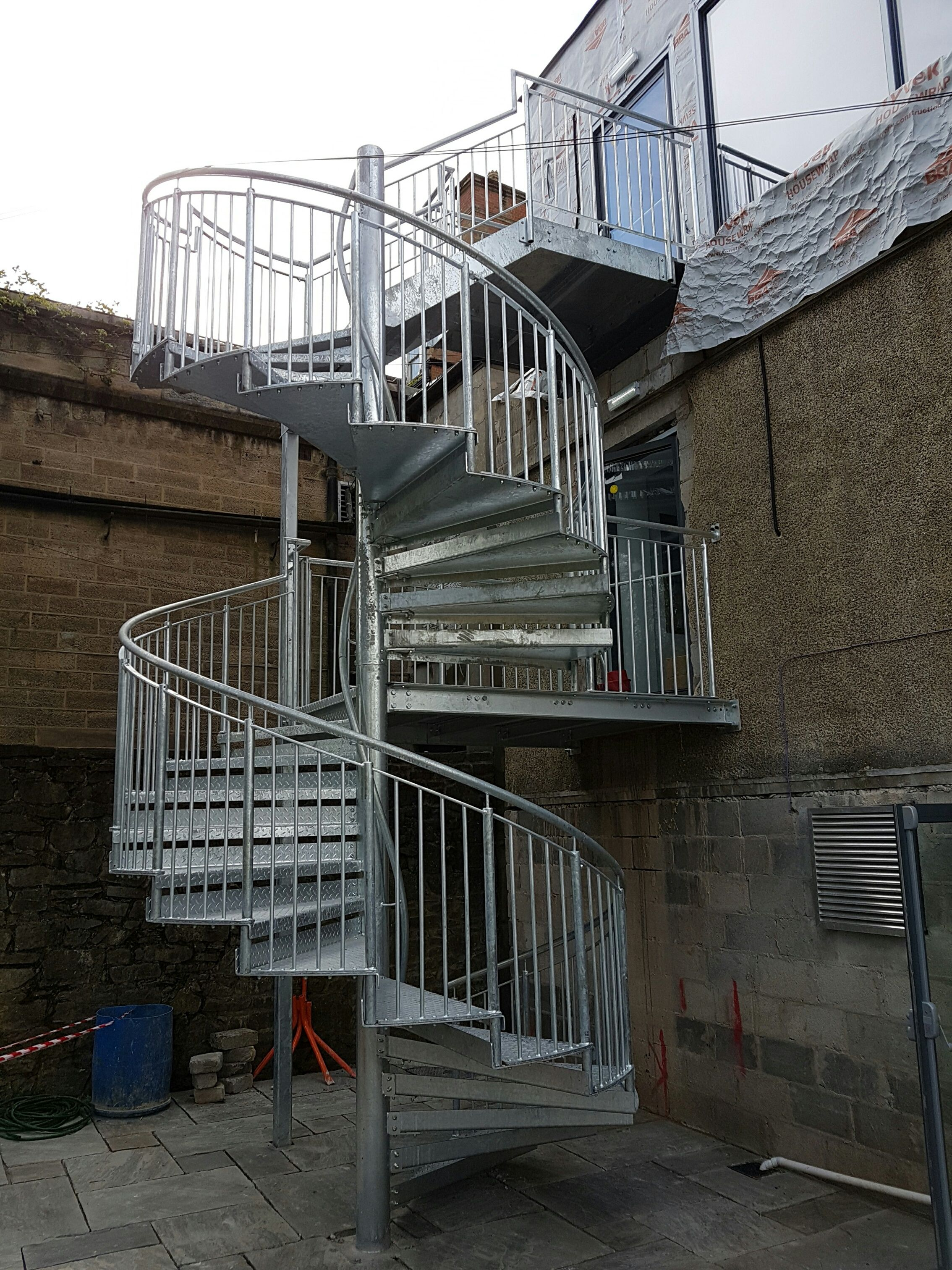 Best Galvanised Spiral Staircase Spiral Staircase Staircase 400 x 300