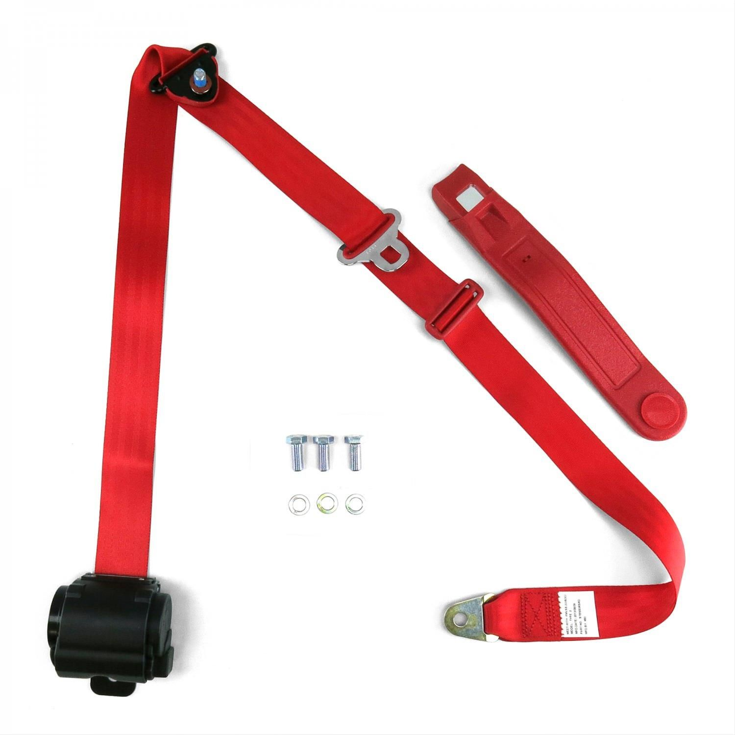 Find Safetboy 3 Point Retractable Push Button Buckle Lap Belts