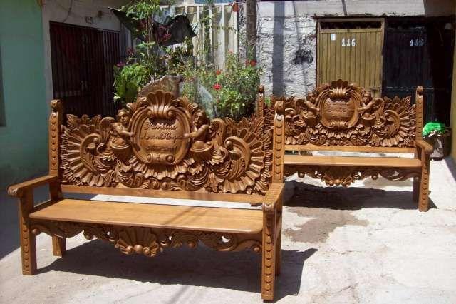 Fotos de muebles tallados somos fabricantes de muebles for Muebles tallados en madera