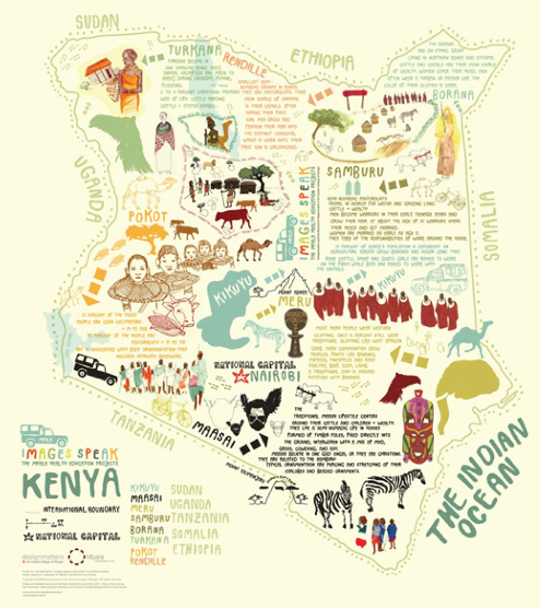 Kenya map city map illustrator pinterest kenya map art and design inspiration from around the world creativeroots gumiabroncs Image collections