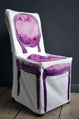 SALE Cotton Chair Cover
