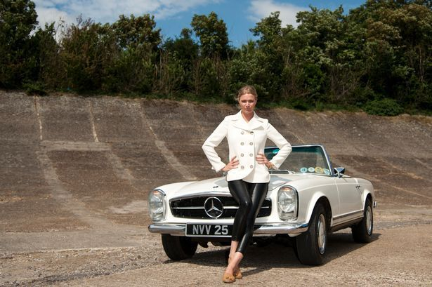 Jodie Kidd Loves Her Classic Cars –