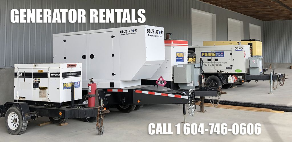 When You Need Temporary Power Prima Is Your Best Solution In 2020 Generators For Sale Rental Generation