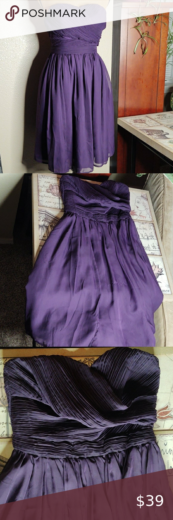 Tevolio Dark Purple Strapless Target Formal Dress Purple Dresses Formal Formal Dresses Blush Pink Bridesmaid Dresses [ 1740 x 580 Pixel ]