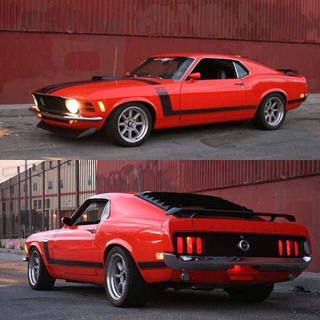 Sweet '70 Mustang Boss 302 With A 5-speed