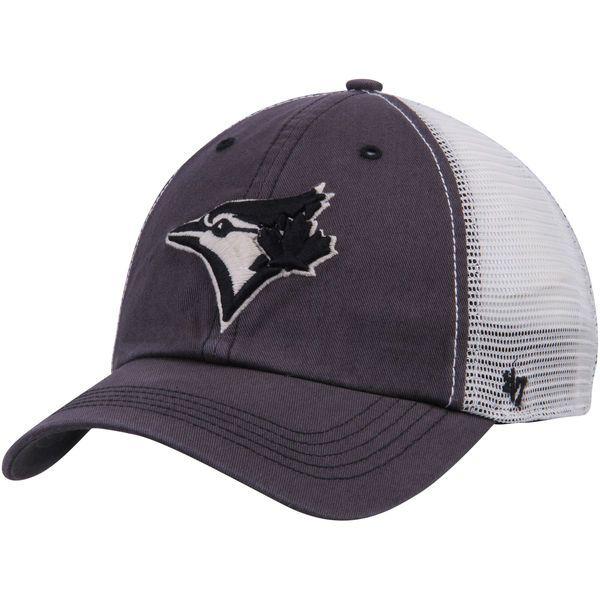 45ced767c442d Men's Toronto Blue Jays '47 Charcoal/Cream Goosage Closer Flex Hat, $27.99