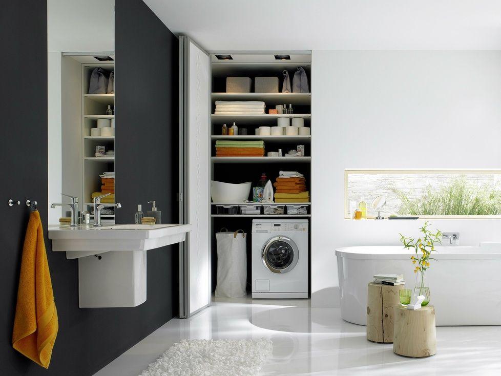 waschmaschine verstecken | badezimmer | pinterest,